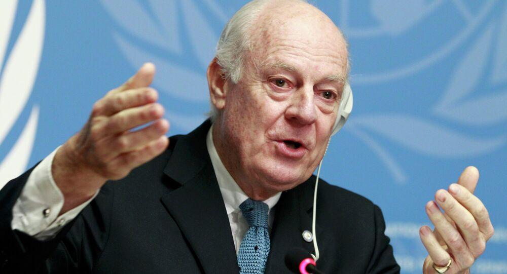 BM Suriye Özel Temsilcisi Steffan de Mistura