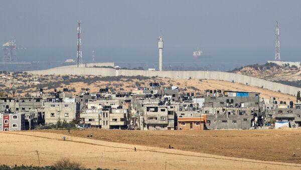 İsrail - Gazze sınırı - Sputnik Türkiye