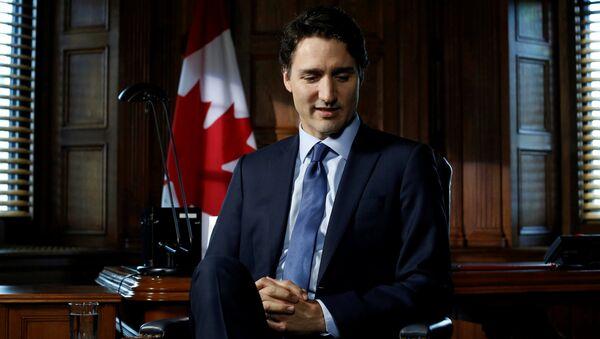 Klaver'ın da benzetildiği, son dönemlerin en gözde siyasetçisi Kanada Başbakanı Trudeau - Sputnik Türkiye