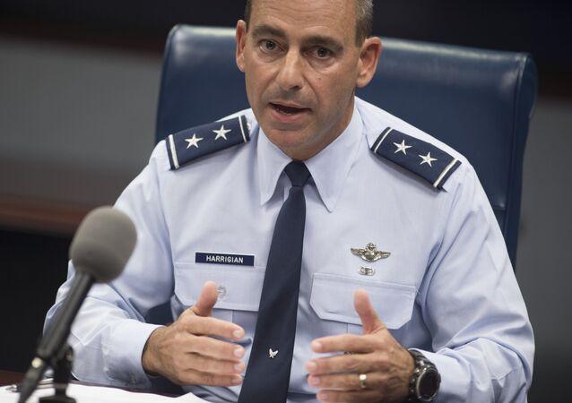 ABD Hava Kuvvetleri Merkez Komutanlığı Komutanı Jeffrey Harrigian