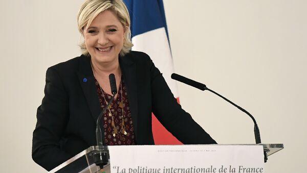 Fransız aşırı sağcı lider Marine Le Pen - Sputnik Türkiye