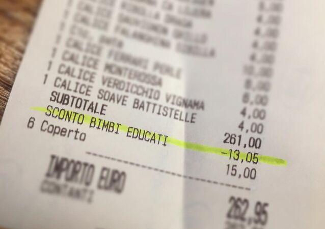 İtalya'da bir restoran, çocukları uslu duran ebeveynlere indirim yaptı