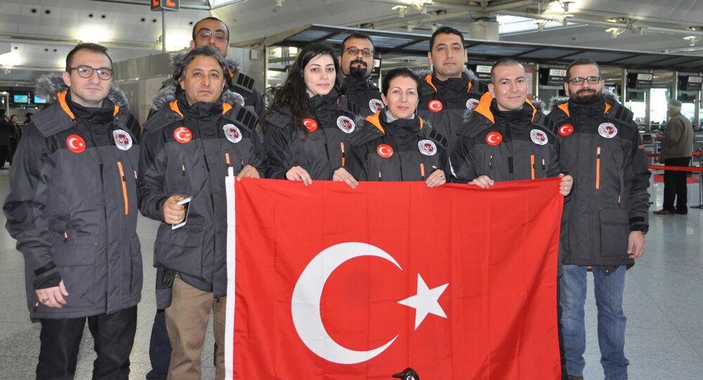 Antarktika'ya giden Türk ekibi