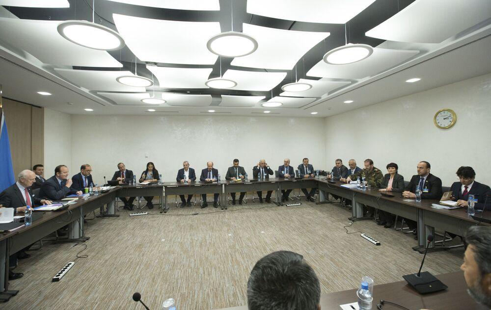 Cenevre'deki Suriye barış görüşmeleri