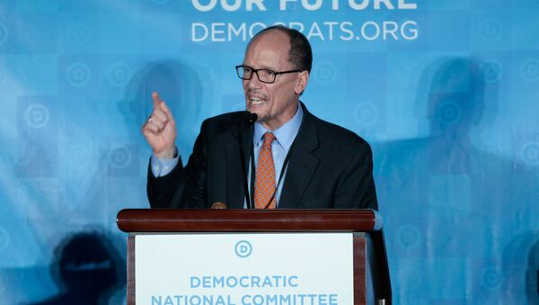 ABD'de Demokrat Parti'nin yeni lideri Tom Perez - Sputnik Türkiye