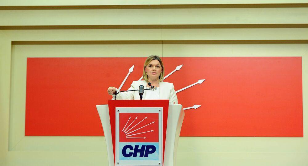 CHP Genel Başkan Yardımcısı ve Sözcüsü Selin Sayek Böke
