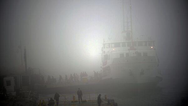 İstanbul Boğazı'nda sis - Sputnik Türkiye