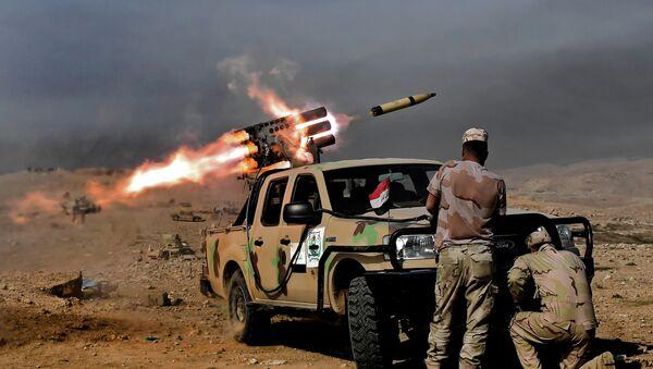 Musul'da Irak ordusu askerleri - Sputnik Türkiye
