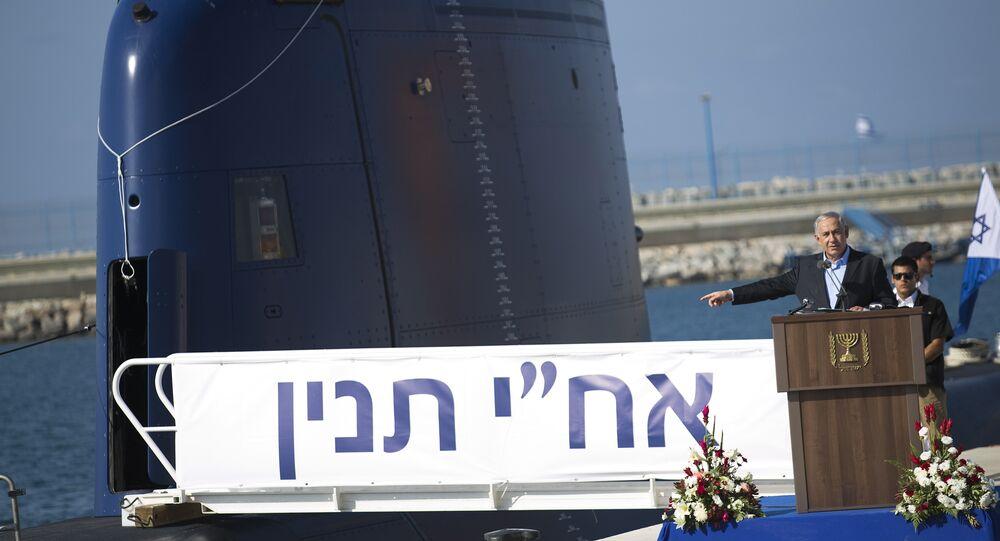 İsrail Başbakanı Benyamin Netanyahu / Denizaltı