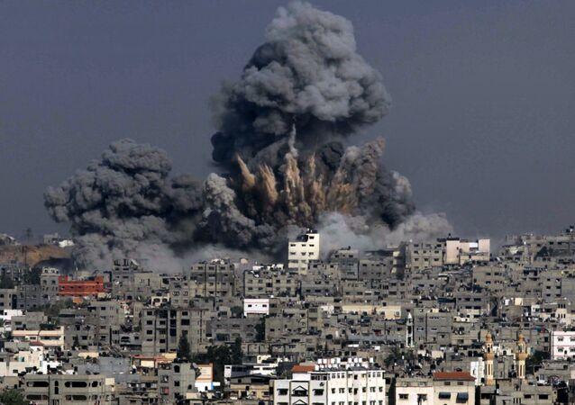 Gazze - İsrail - 2014 - Koruyucu Hat Operasyonu