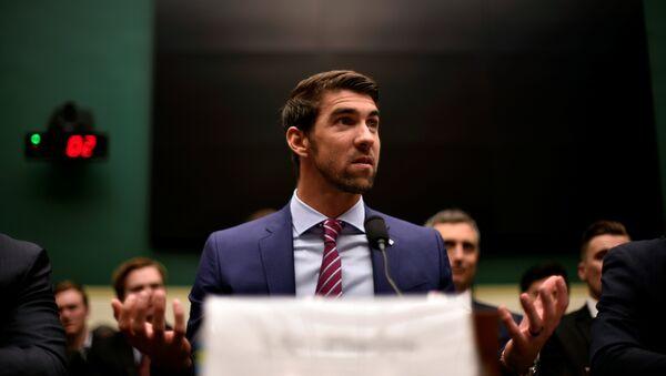 Michael Phelps - Sputnik Türkiye