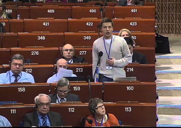 Ukrayna milletvekili Aleksey Honçarenko
