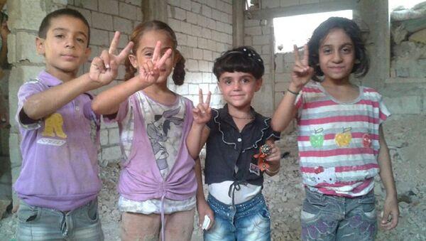 Suriyeli çocuklar - Sputnik Türkiye