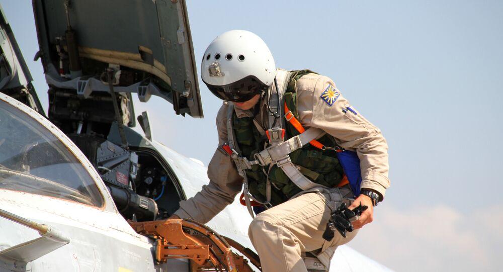 Su-24 jeti Suriye'deki Rus üssünde