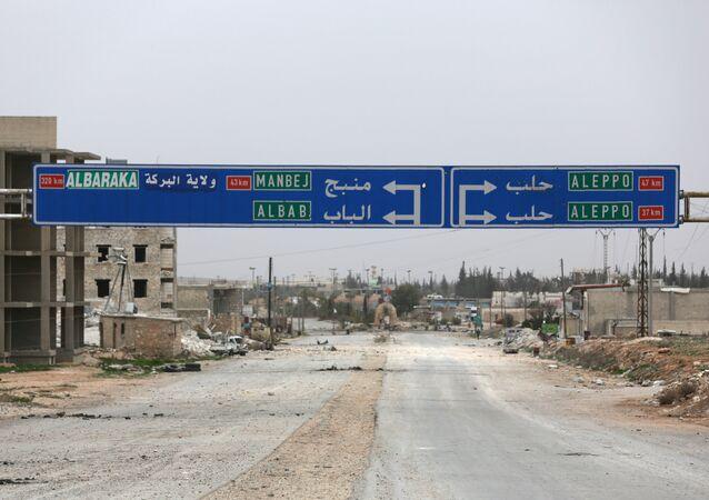 Halep - Menbiç - El Bab