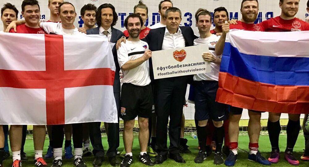 'Rusya Futbolu Seviyor'