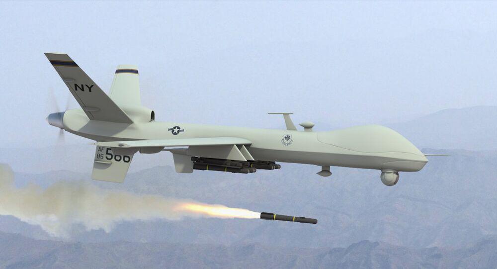 ABD'ye ait bir İnsansız Hava Aracı (İHA)