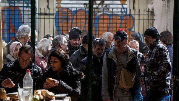 Yunanistan AB'nin en yoksul ülkesi - Sputnik Türkiye