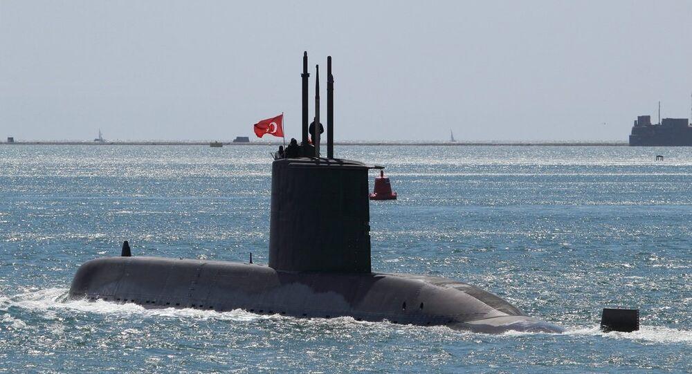 Türkiye denizaltısı