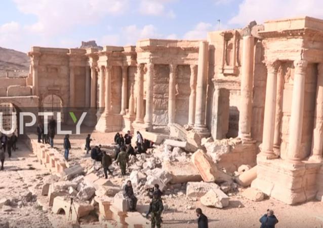 İkinci kez IŞİD'den kurtarılan Palmira'da konser