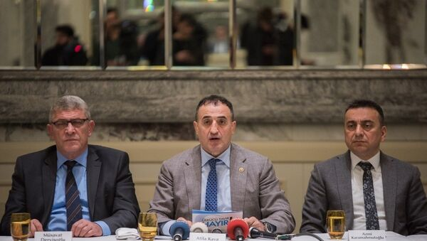 Ülkü Ocakları eski başkanlarından 'referandum' açıklaması - Sputnik Türkiye