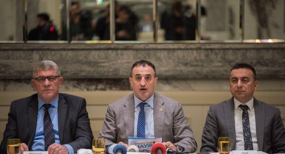 Ülkü Ocakları eski başkanlarından 'referandum' açıklaması