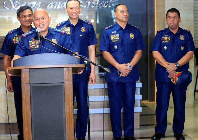 Filipinler Emniyet Genel Müdürü Ronald Dela Rosa