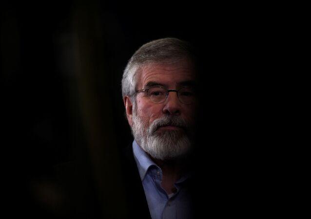 Sinn Fein lideri Gerry Adams