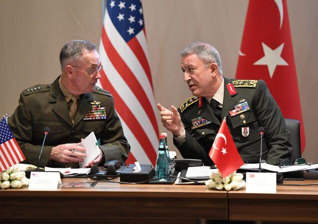 Genelkurmay Başkanı Akar ve ABD'li mevkidaşı Dunford