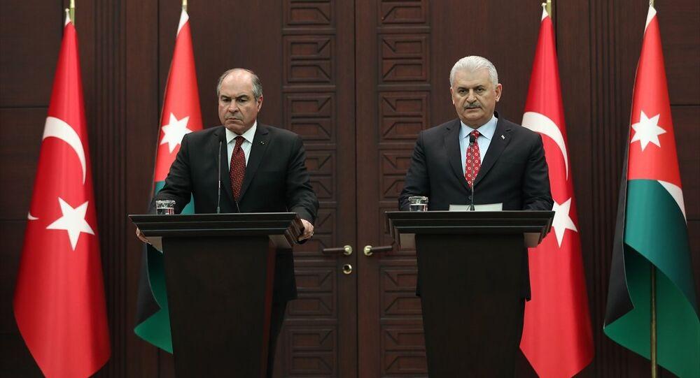 Ürdün Başbakanı Hani El-Mulki ile Başbakan Binali Yıldırım