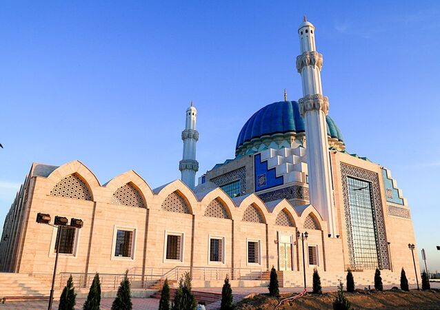 Kazakistan Hoca Ahmet Yesevi Camii