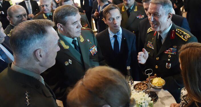 Rusya, Türkiye ve ABD Genelkurmay Başkanları Antalya'da biraraya geldi