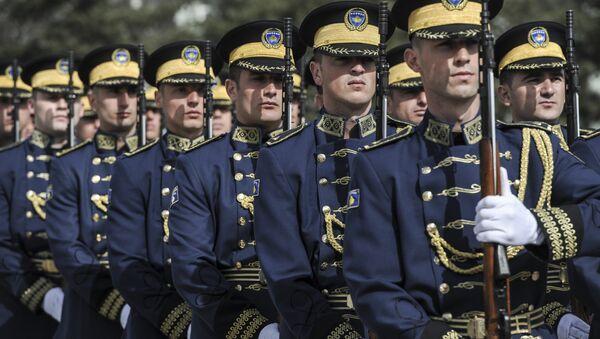 Kosova güvenlik güçleri - Sputnik Türkiye