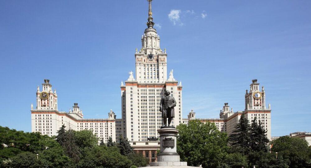 Rusya - Moskova - üniversite