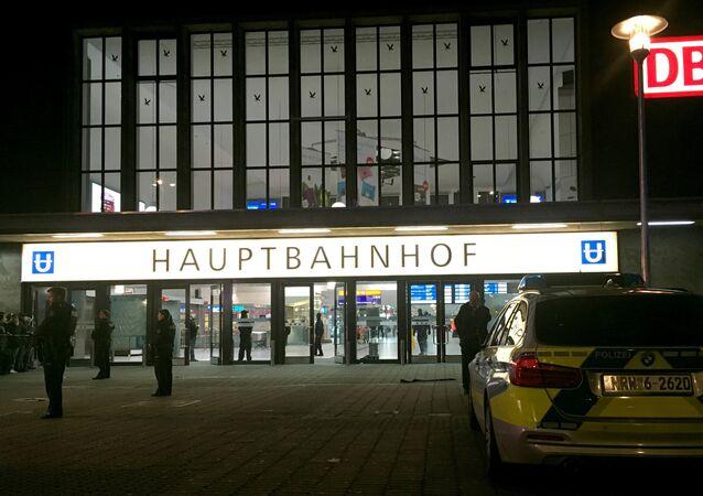 Almanya'da Düsseldorf kentinde baltalı saldırı