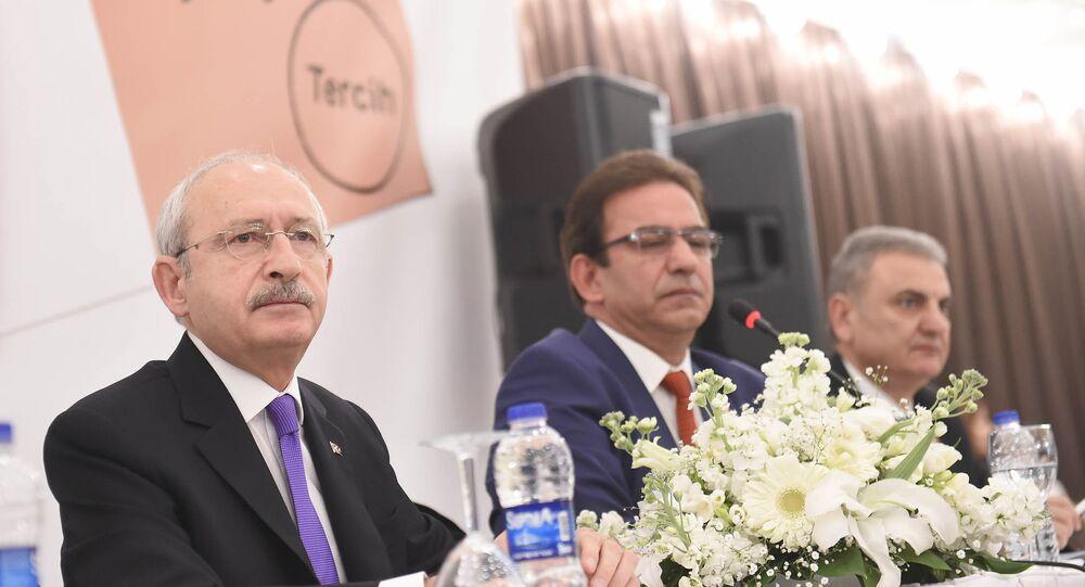 Kemal Kılıçdaroğlu ve CHP Genel Başkan Yardımcıları Çetin Osman Budak ile Öztürk Yılmaz