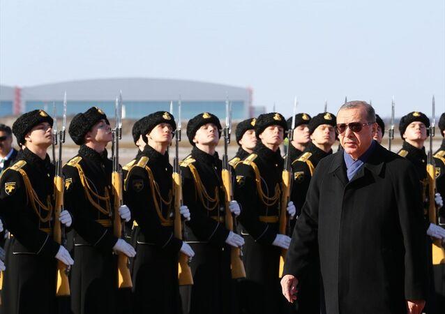 Recep Tayyip Erdoğan, Moskova'da