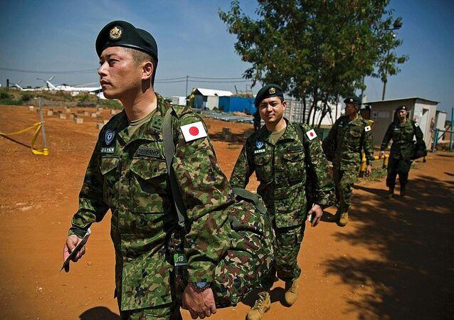 Güney Sudan'daki Japon askerler