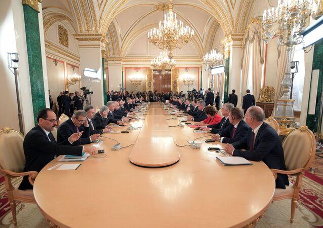 Rusya - Türkiye Üst Düzey İşbirliği Toplantısı