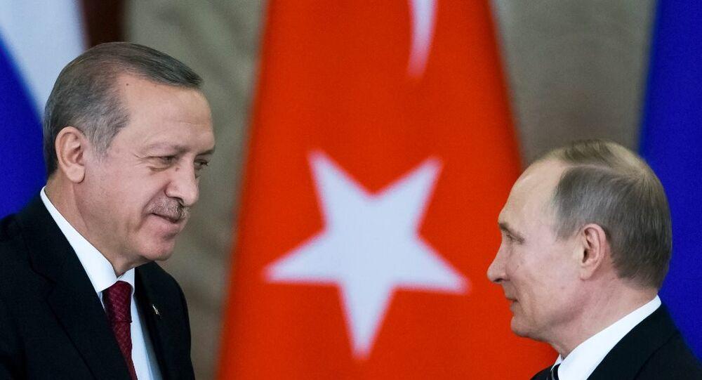 Türkiye Cumhurbaşkanı Recep Tayyip Erdoğan, Moskova'da
