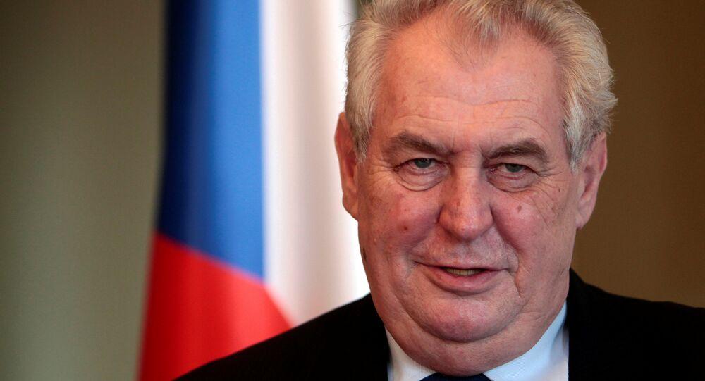 Çekya Devlet Başkanı Milos Zeman