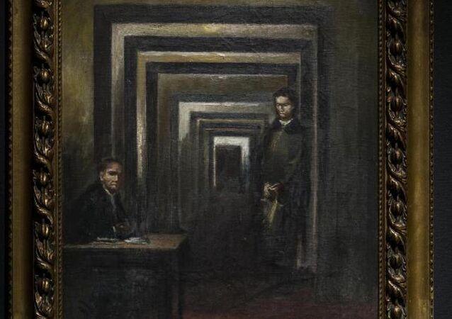 Hitler'in yaptığı tablo
