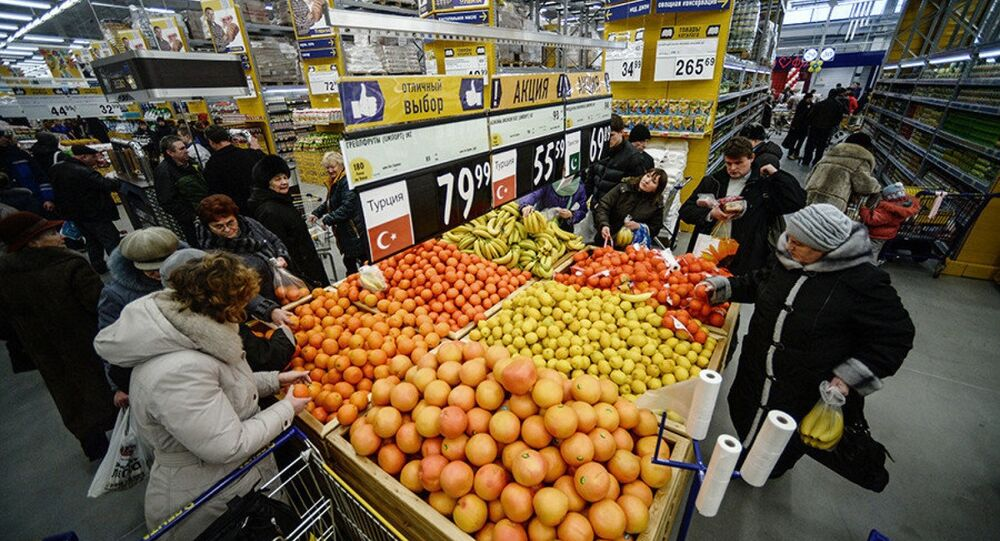 Rusya pazarında Türk meyve ve sebzeleri