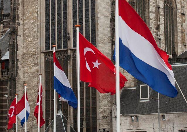 Türkiye - Hollanda - Bayrak