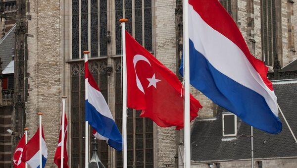 Türkiye - Hollanda - Bayrak - Sputnik Türkiye