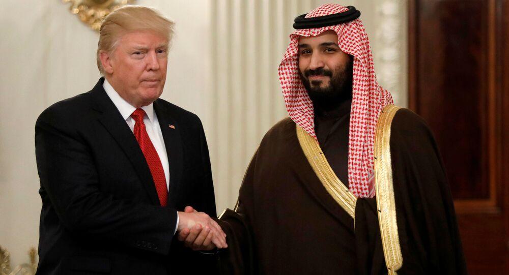 ABD Başkanı Trump ve Suudi 2. Veliaht Prensi Selman