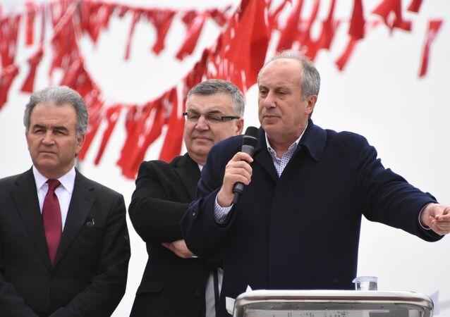 CHP Milletvekili Muharrem İnce