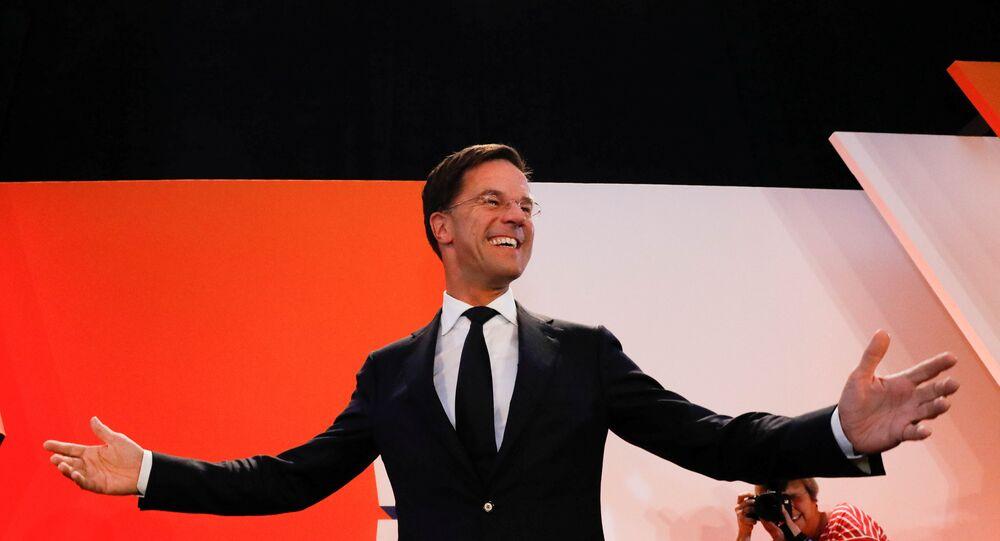Hollanda'da seçimin galibi Başbakan Mark Rutte'nin partisi oldu