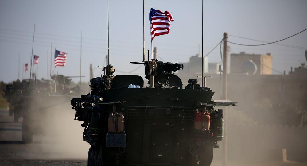 Suriye'deki ABD askerleri