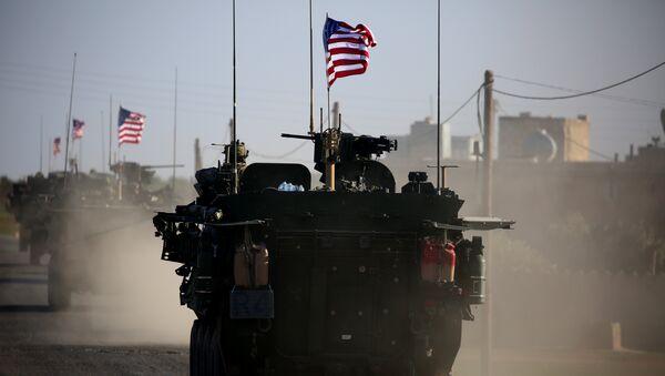 Suriye'deki ABD askerleri - Sputnik Türkiye